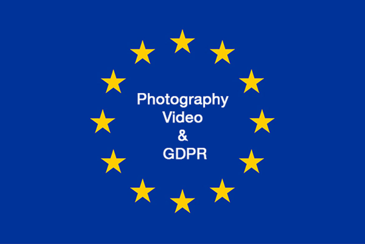 Photography, Video & GDPR