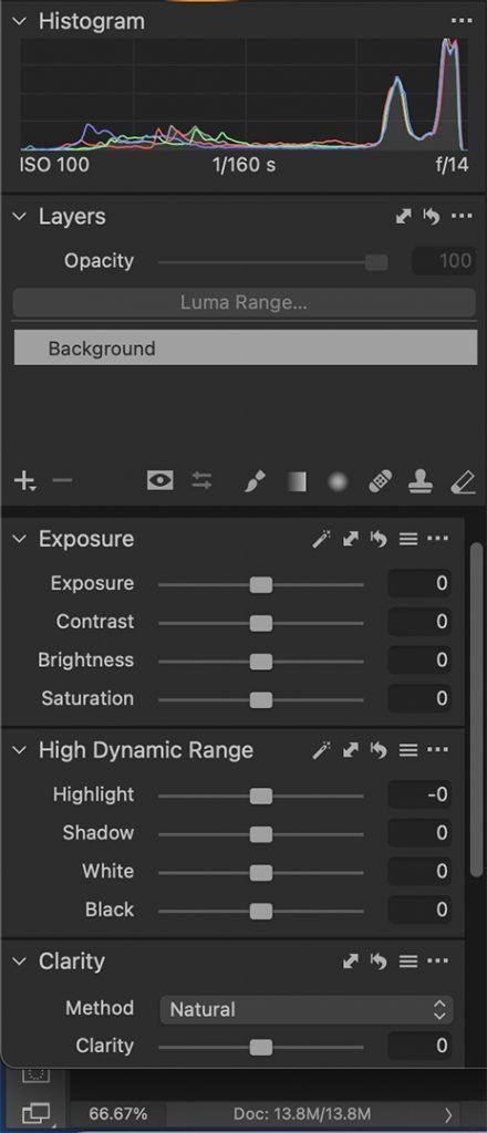 Editing in Capture One 21